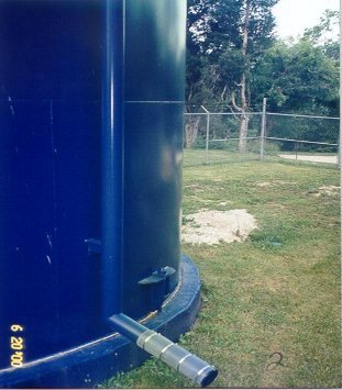 JUNE 20, 2000 The welded tank is dry. No sweat, no dirt sticking to or mold growing on it.